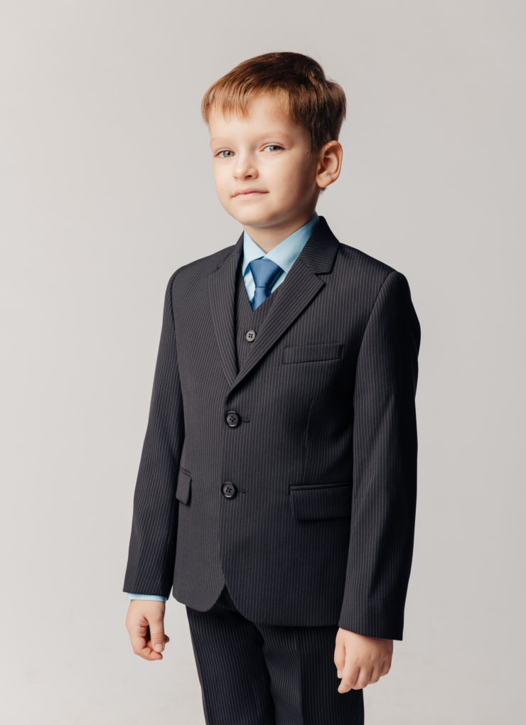 Пиджак для мальчика (параллель)