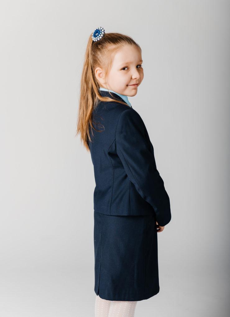 Пиджак Terry (синий колледж)
