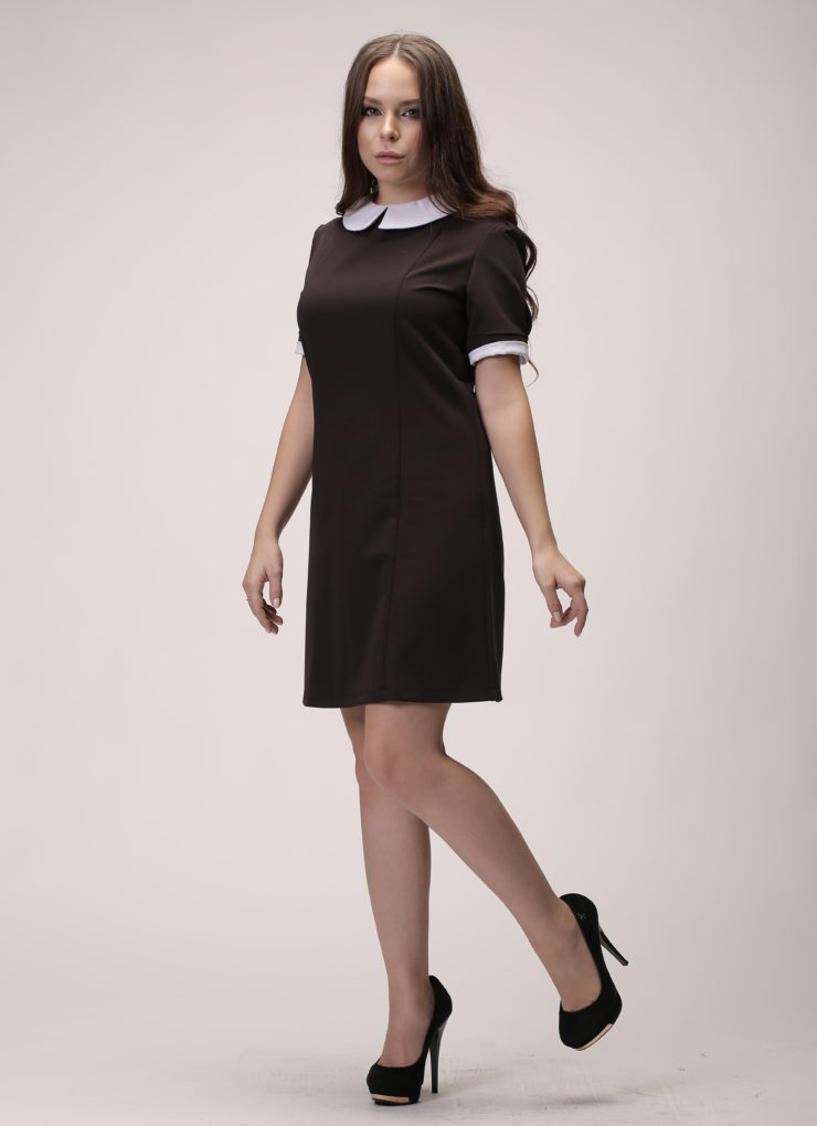 Платье Ретро короткий рукав