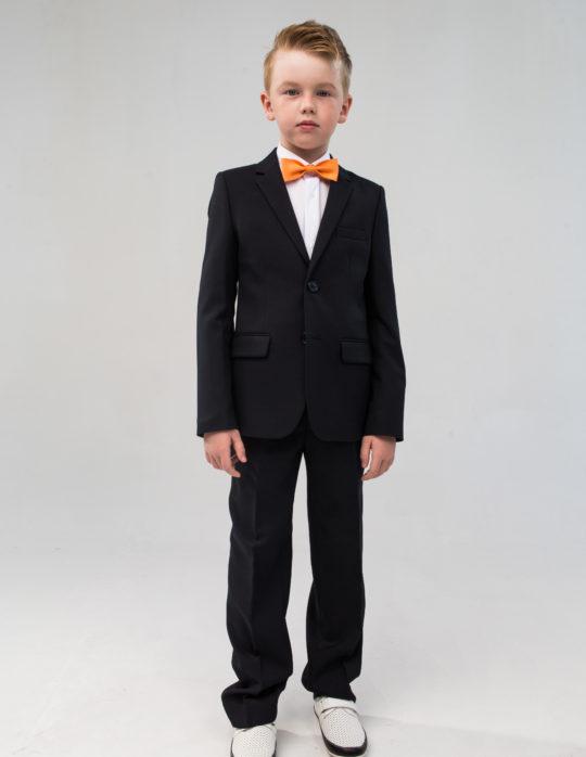 Пиджак для мальчика (черный)