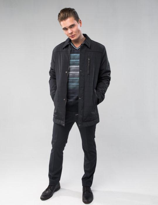 Куртка мужская осенняя (черная)