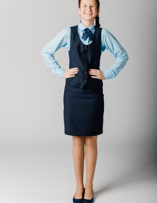 Юбка Blair (синий колледж)
