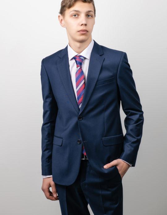 Костюм мужской (синий)