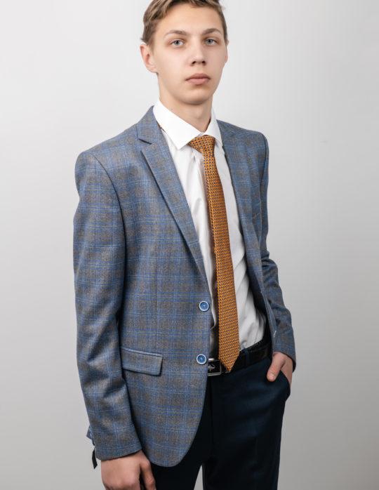 Пиджак мужской (светло-серый)