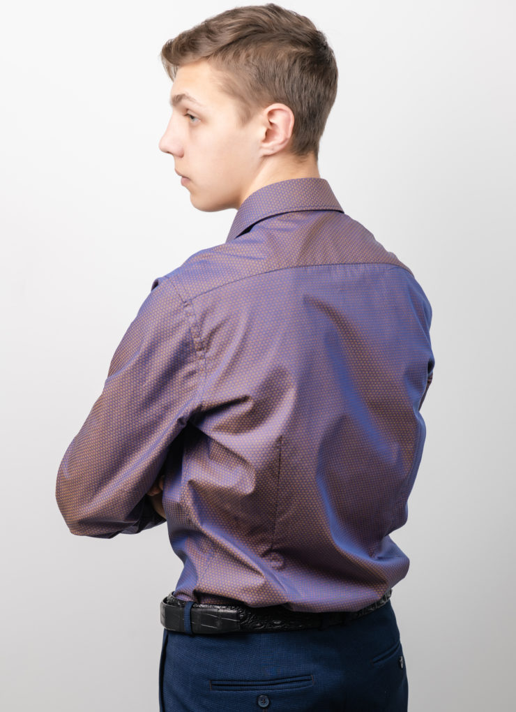 Сорочка мужская (хамелеон)