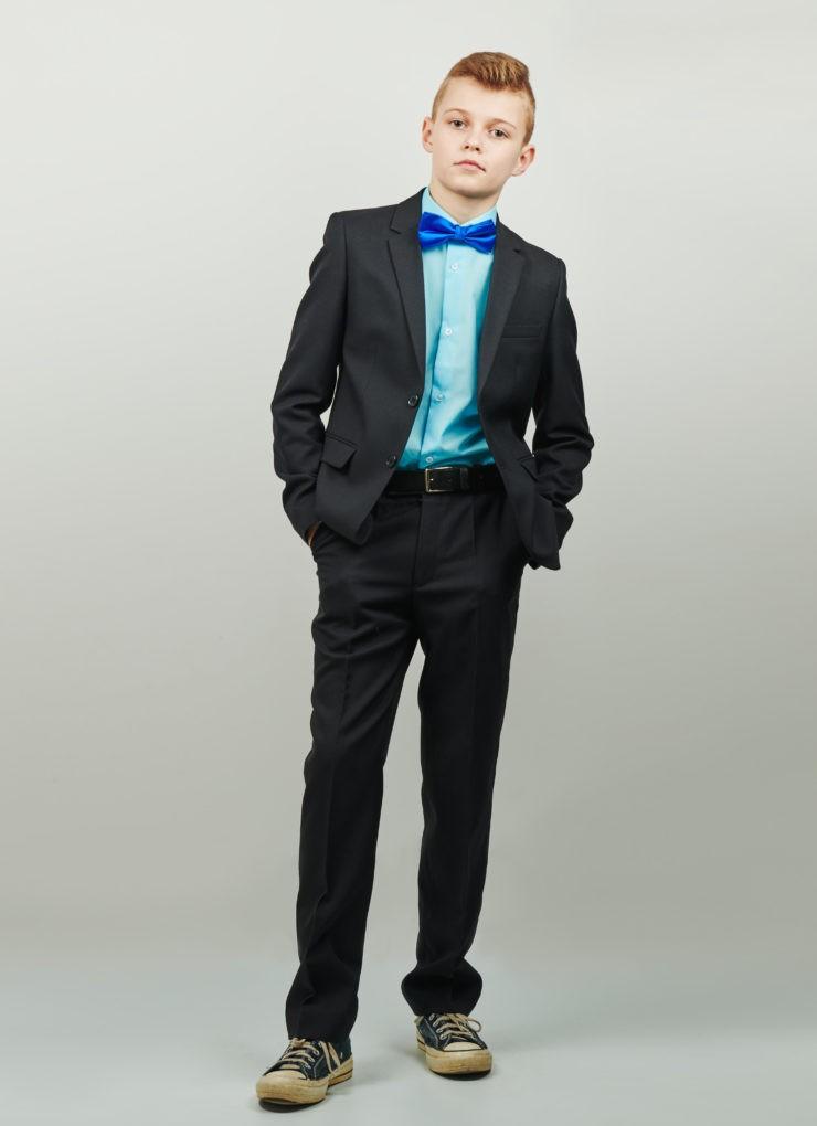 Пиджак для мальчика (чёрный)