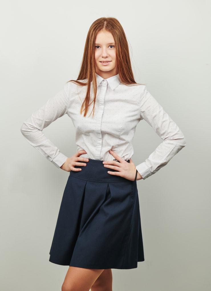 Юбка Sunny (синий колледж)