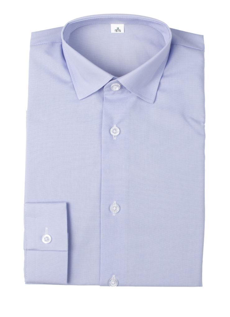 Сорочка мужская (светло-сиреневая)