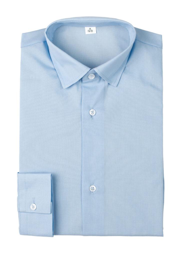 Сорочка мужская (голубая)